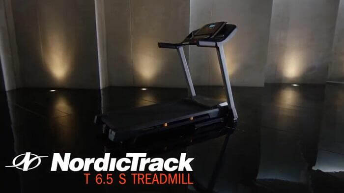 nordictrack T 6.5 S treadmill in display room