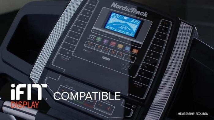 monitor demonstration nordictrack 6.5 treadmill