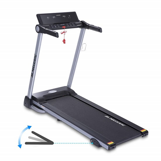 maxkare folding treadmill white background
