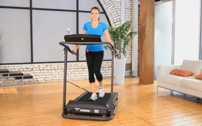 Exerpeutic TF1000 Walk To Fitness Treadmill