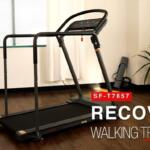 Sunny Health & Fitness SF-T7857 Recovery Walking Treadmill in front room