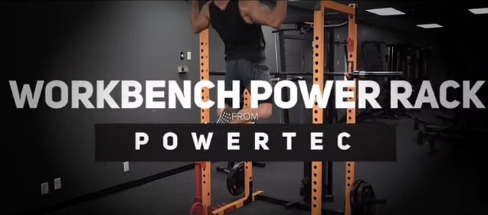demonstration of all of the features powertec power rack