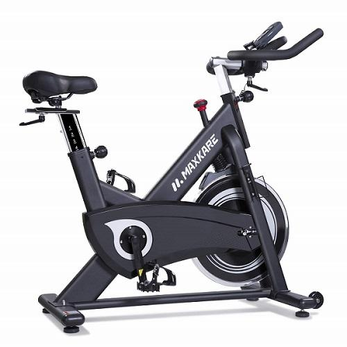 Maxkare magnetic spin bike white background