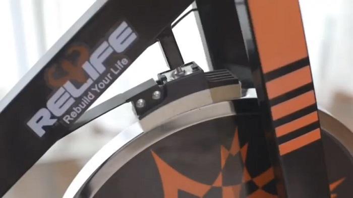 RELIFE spin bike friction resistance system