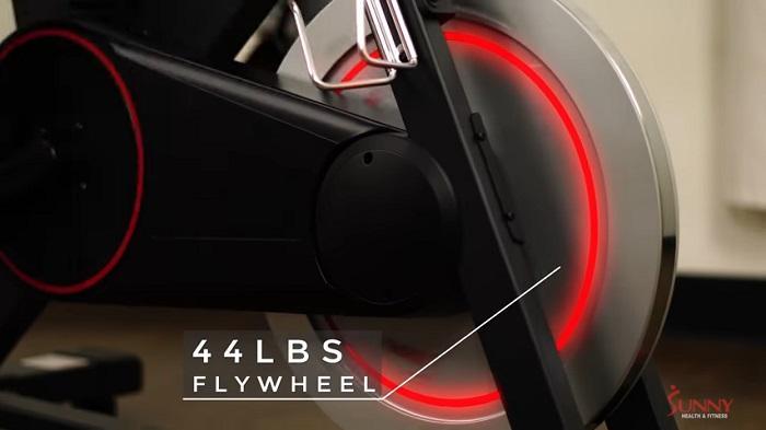 Sunny Health SF-B1805 44lb flywheel