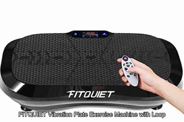 FITQUIET Vibration Plate Exercise Machine with remote