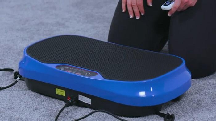 setting up of LifePro waver mini vibration platform