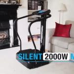 bluefin fitness pro vibration plate in front room of house