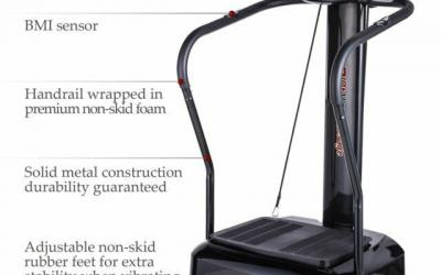 Pinty 2000W Whole Body Vibration Platform Exercise Machine Review