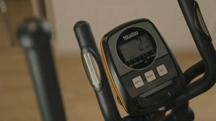 demonstration of niceday elliptical monitor