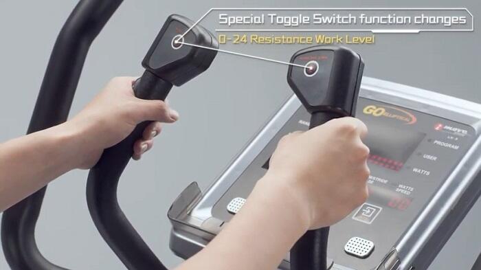 Demonstration Goelliptical V950X monitor
