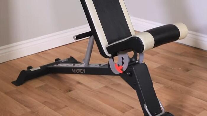 adjustable seat positions of marcy weight bench
