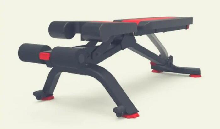 bowflex 5.1s adjustable weight bench in flat position