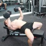 how to use a weight bench for dumbbell pressing
