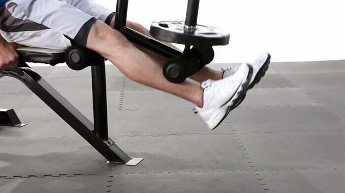 leg curl attachment of marcy md-879
