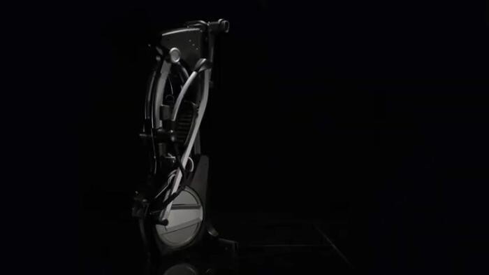 folded nordictrack elliptical