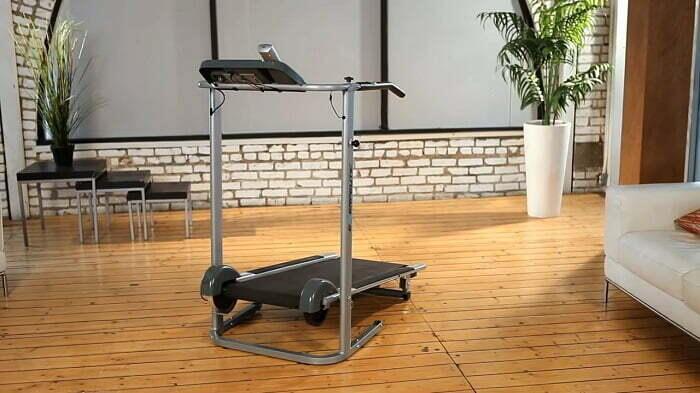 walking treadmill demonstration