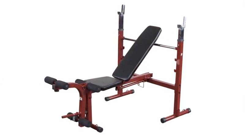 Body-Solid Best Fitness Olympic Weight Bench Review
