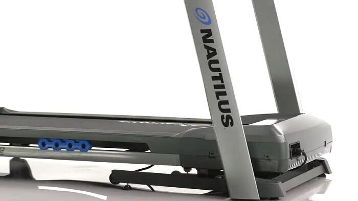 Nautilus t614 treadmill deck with shock absorbers